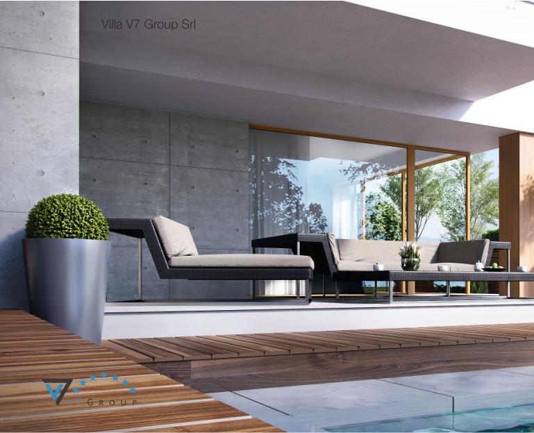 Immagine Contatto Villa V19 - vista piscina e pianta in dettaglio
