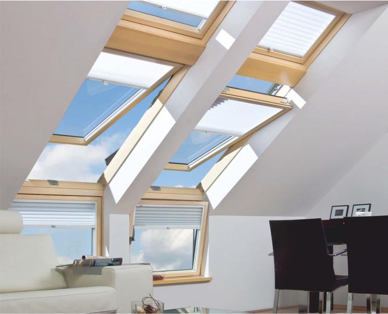 Immagine Finestre per tetto - aperte finestre sul tetto