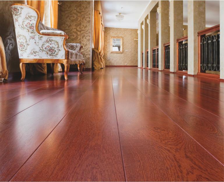 Immagine Materiali Edili - dettaglio pavimento in legno