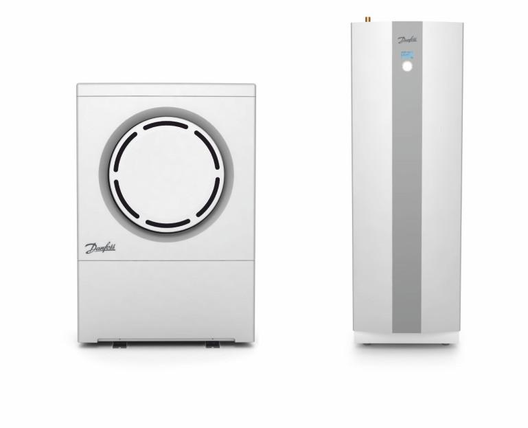 Immagine Pompa di calore - due unità di pompa di calore da vicino