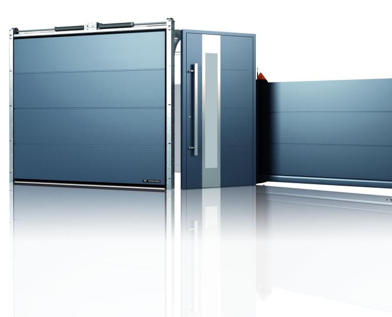 Immagine Porte garage - presentazione porta blu