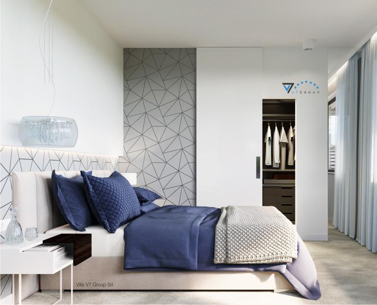 Immagine Rivista - Ville in Stile Moderno - camera matrimoniale - baner piccolo