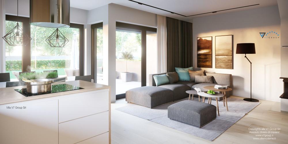 Immagine Rivista - Ville in Stile Moderno - soggiorno - galleria