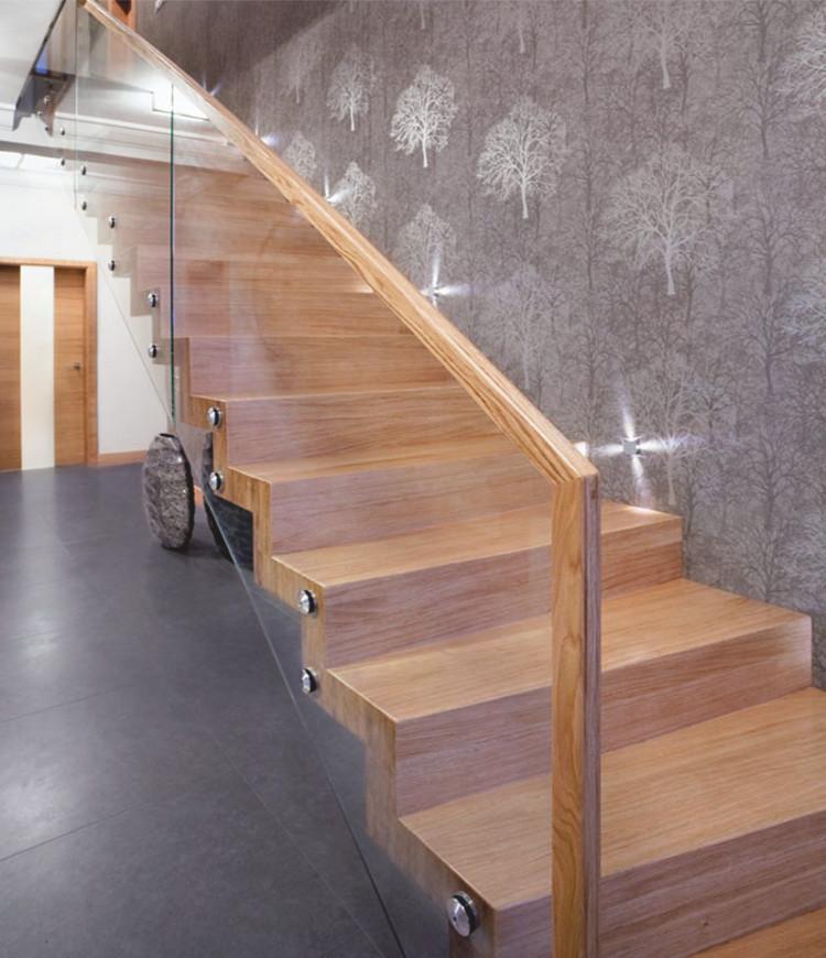 Immagine galleria 16 - scale in legno con il vetro