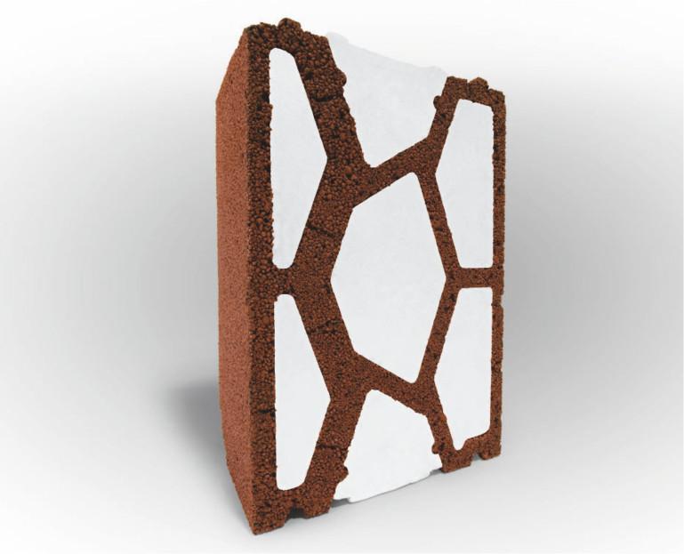 Immagine Sistema V7 - blocco di argilla espansa