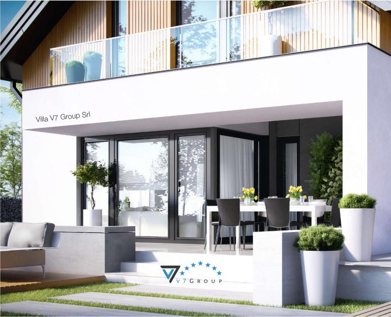Immagine Villa V1 ENERGO - vista terrazzo esterno piccola