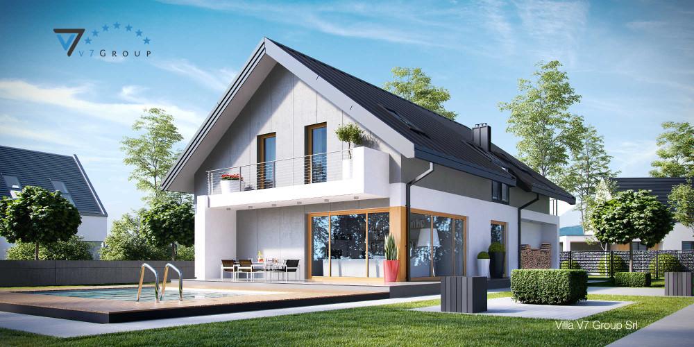 Immagine Villa V10 (progetto originale) - la presentazione di Villa V11