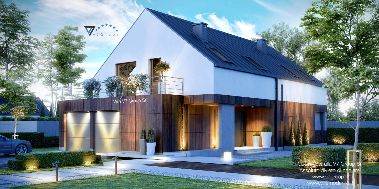 Immagine Villa V10 - vista frontale grande