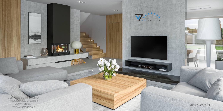 Immagine Villa V11 - interno 4 - soggiorno