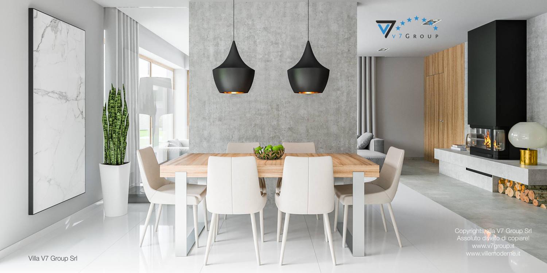 Immagine Villa V11 - interno 6 - sala da pranzo