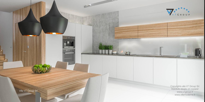 Immagine Villa V11 - interno 8 - cucina e sala da pranzo