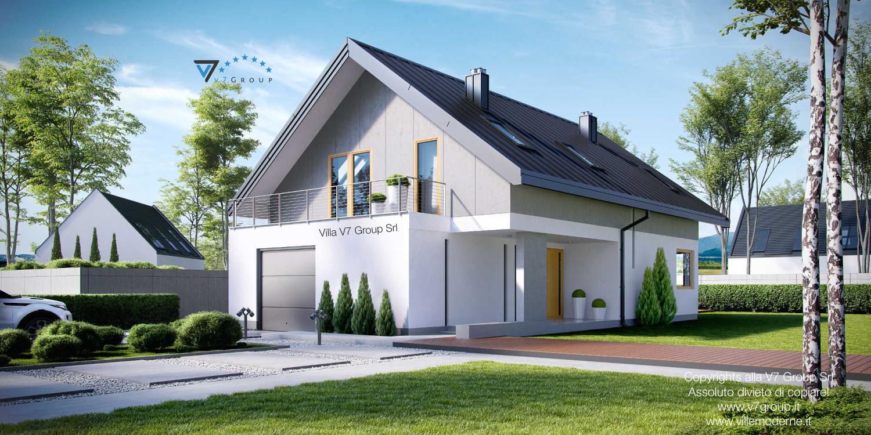 Immagine Villa V11 - vista frontale grande