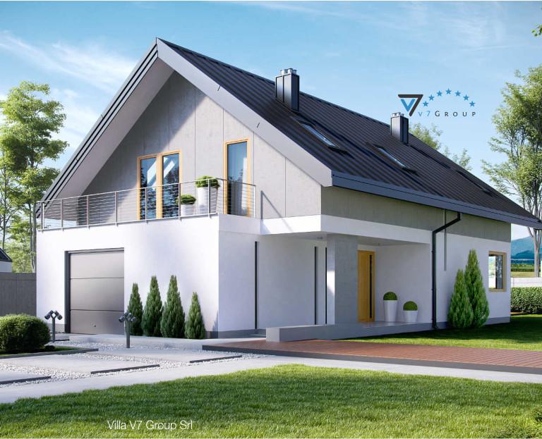 Immagine Villa V11 - vista frontale piccola