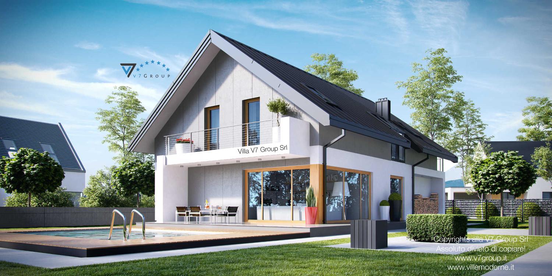 Immagine Villa V11 - vista giardino grande