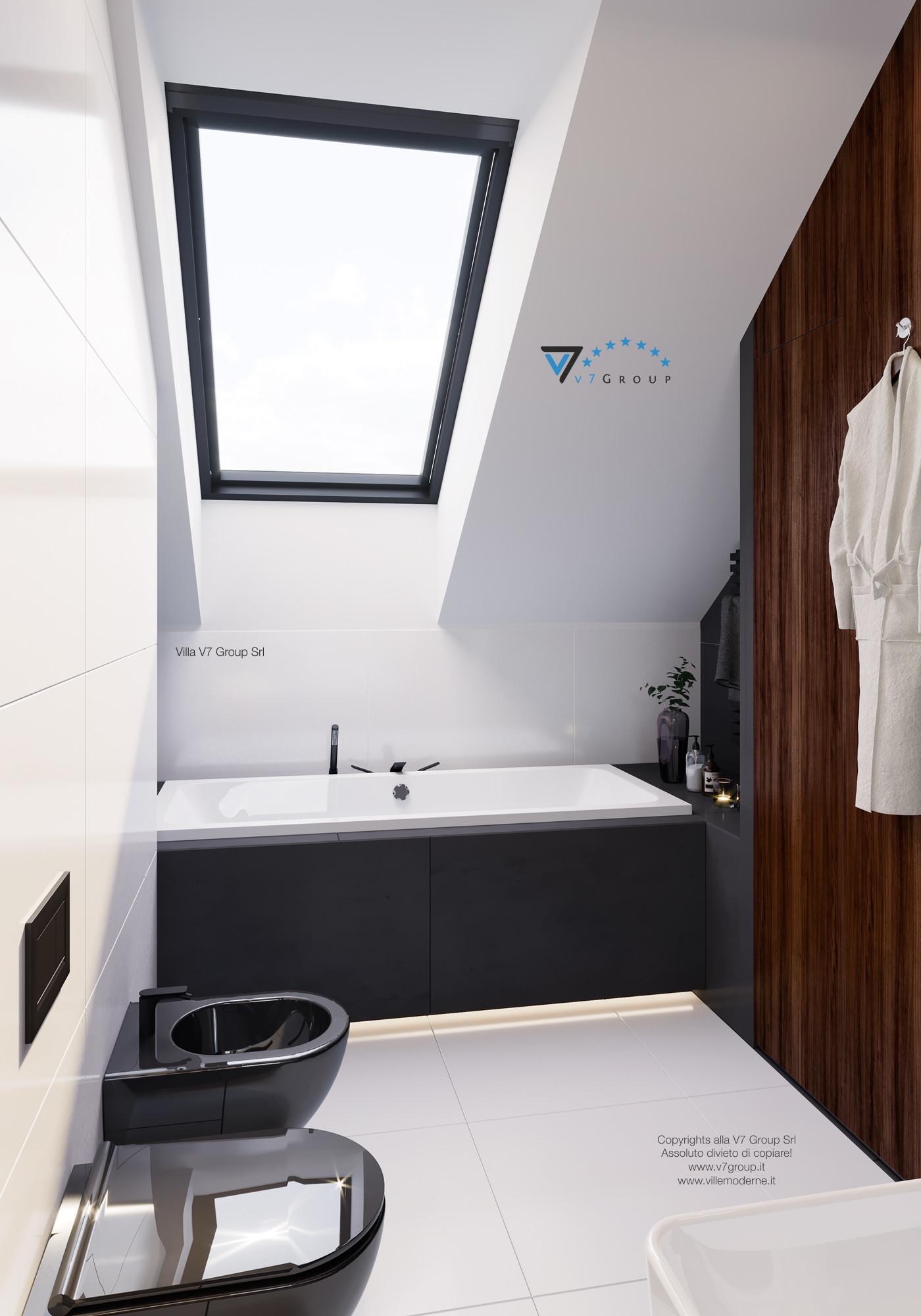 Immagine Villa V13 ENERGO - la vasca nel bagno padronale
