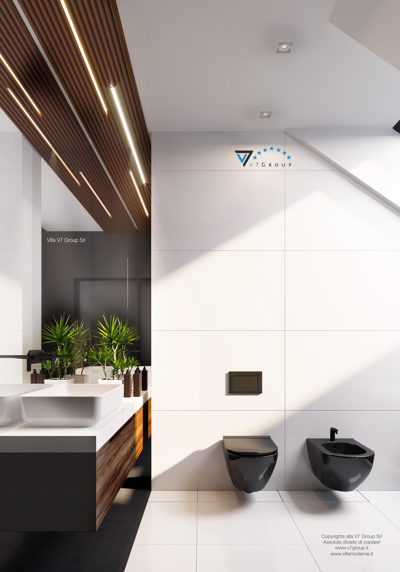 Immagine Villa V13 ENERGO - il design interno del bagno