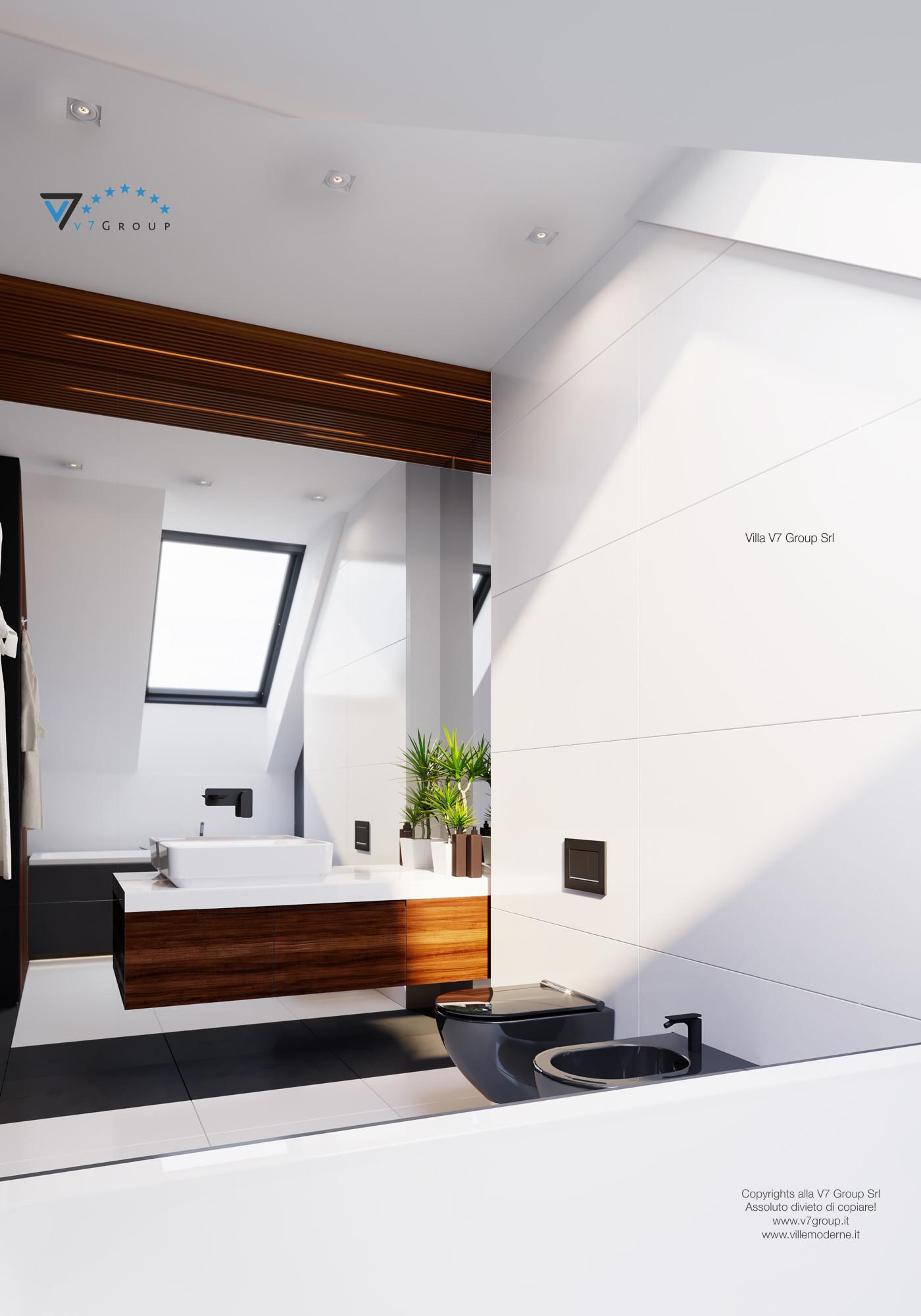 Immagine Villa V13 ENERGO - il grande specchio nel bagno