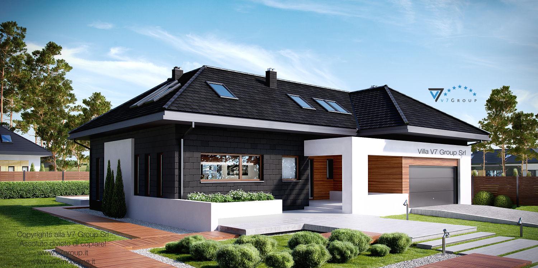 Immagine Villa V13 ENERGO - vista frontale grande