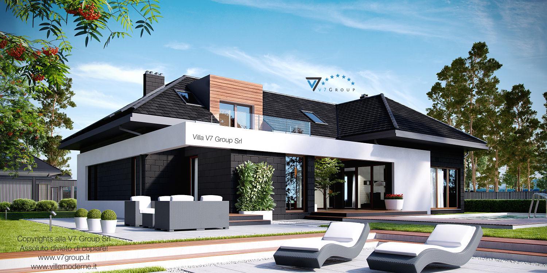 Immagine Villa V13 ENERGO - vista giardino grande