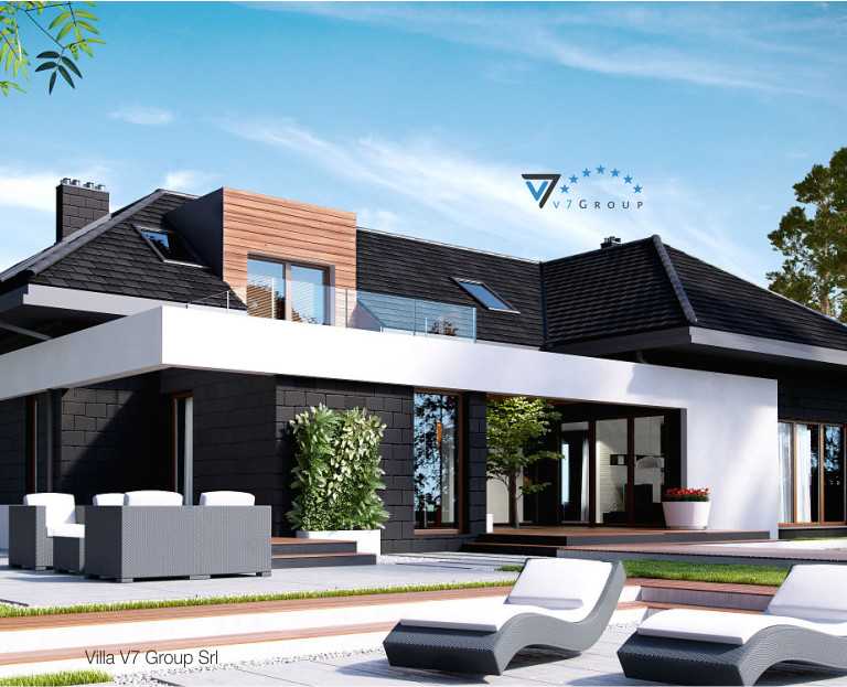 Immagine Villa V13 ENERGO - vista giardino piccola