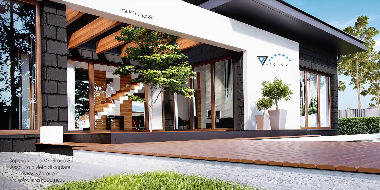 Immagine Villa V13 ENERGO - vista terrazzo esterno grande