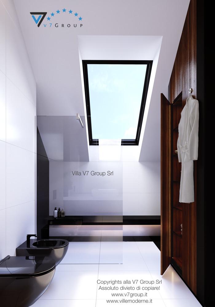 Immagine Villa V13 - la doccia nel bagno padronale