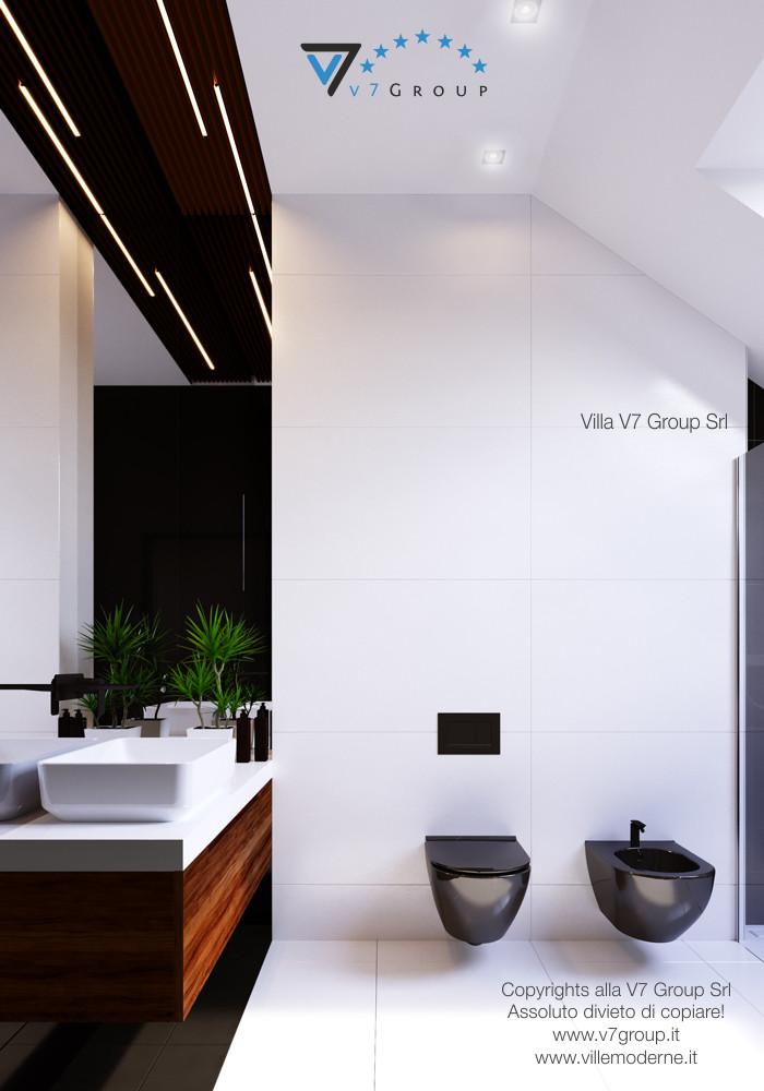 Immagine Villa V13 - la sistemazione interna del bagno