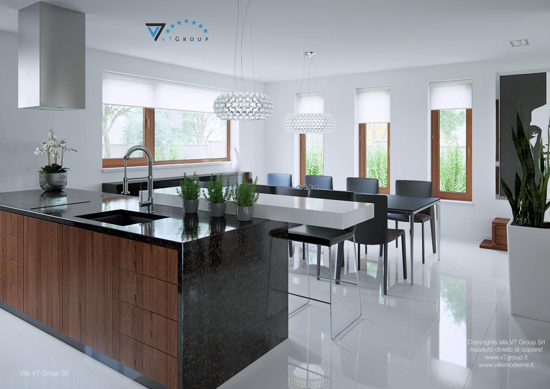 Immagine Villa V13 - la presentazione della sala da pranzo
