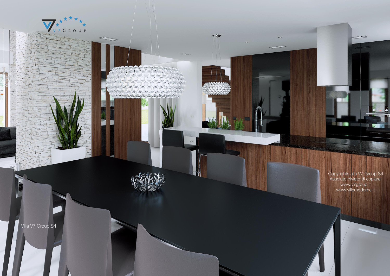 Immagine Villa V13 - interno 7 - sala da pranzo