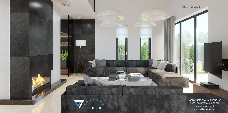Immagine Villa V14 - interno 2 - soggiorno