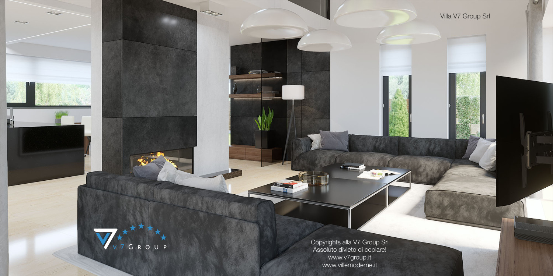 Immagine Villa V14 - interno 3 - soggiorno