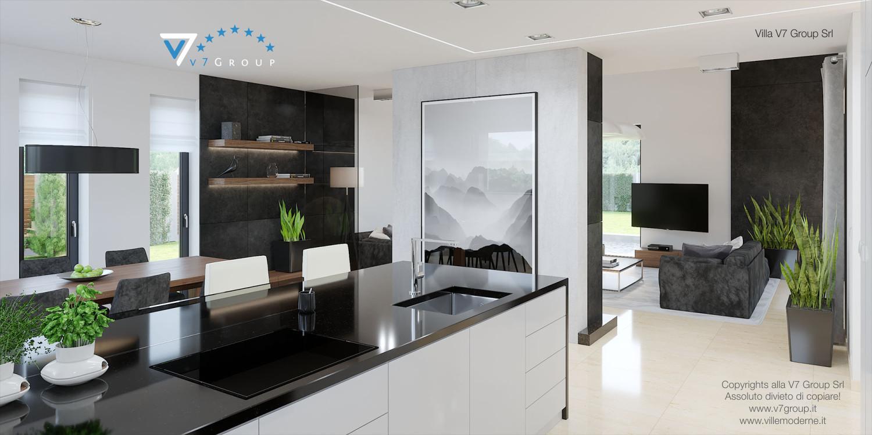 Immagine Villa V14 - interno 6 - cucina e corridoio