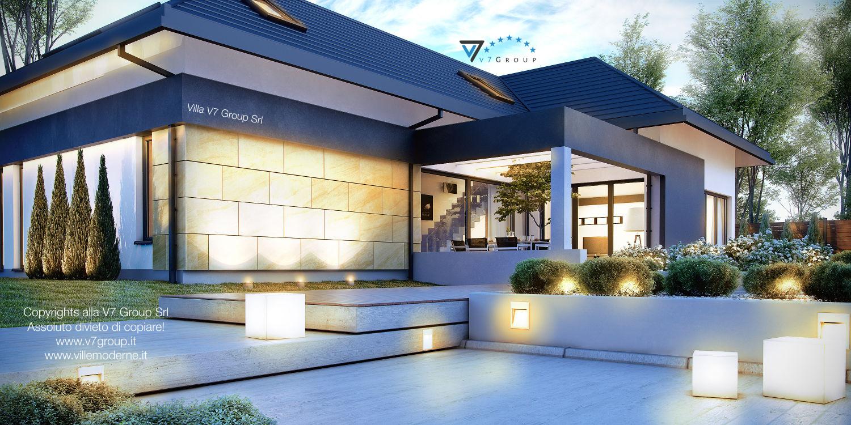 Immagine Villa V14 - vista terrazzo esterno grande