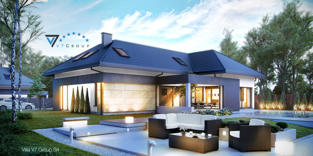 Immagine Villa V15 (progetto originale) - la presentazione di Villa V14