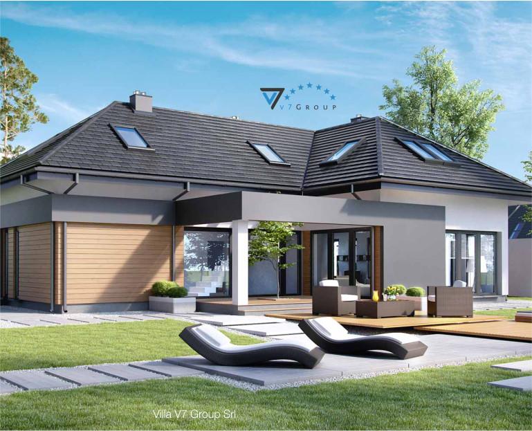Immagine Villa V15 - il dettaglio del terrazzo esterno