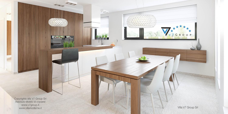 Immagine Villa V15 - interno 4 - sala da pranzo e cucina