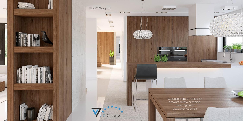 Immagine Villa V15 - la sistemazione del corridoio interno