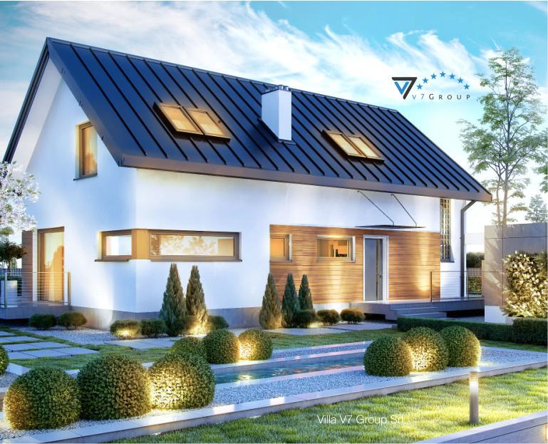 Immagine Villa V16 - vista frontale piccola