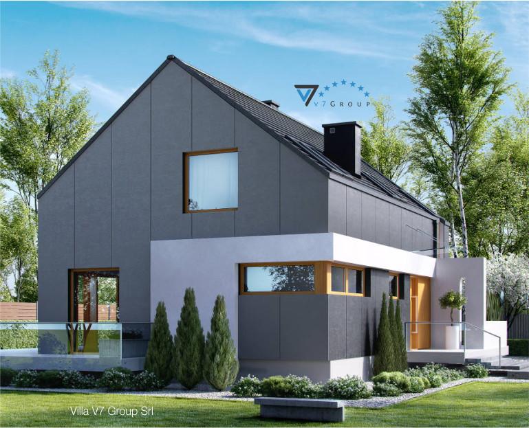 Immagine Villa V17 - il dettaglio della forma esterna della casa