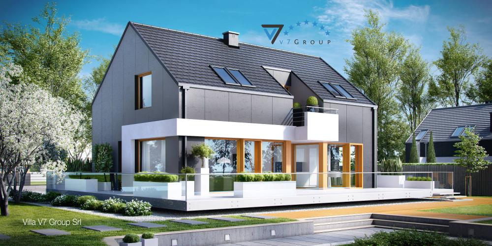 Immagine Villa V18 (progetto originale) - la presentazione di Villa V17