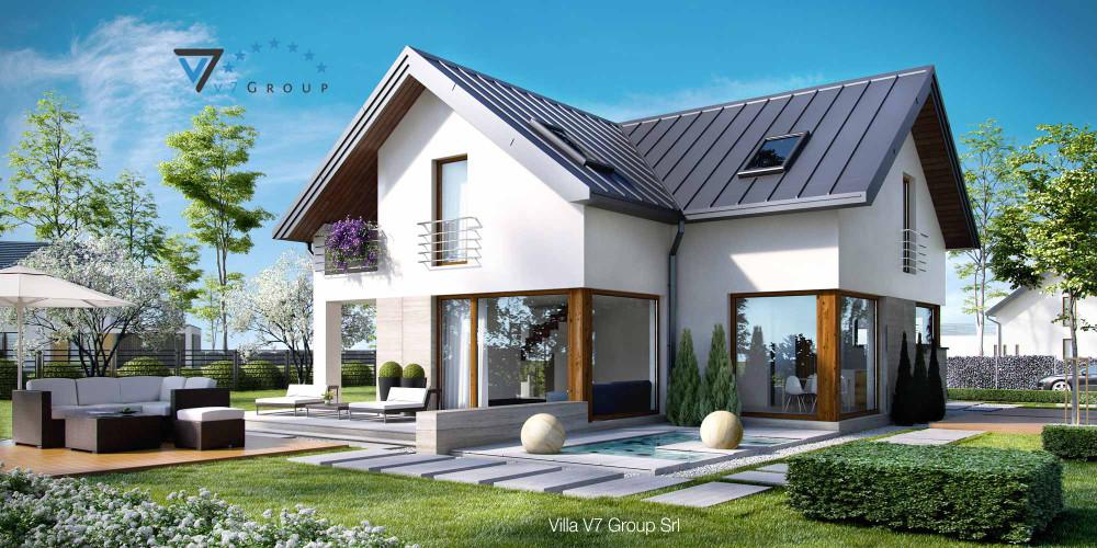 Immagine Villa V19 (progetto originale) - la presentazione di Villa V18