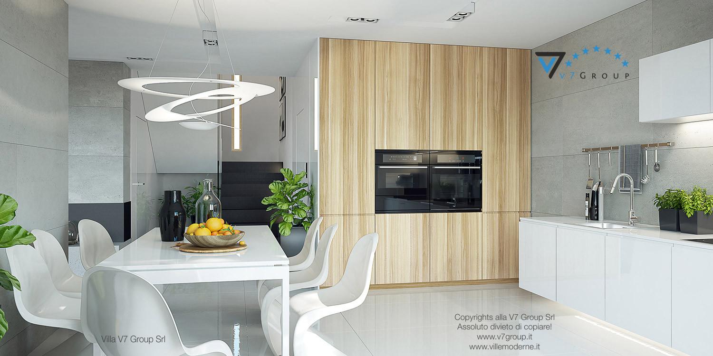 Immagine Villa V19 - la sala da pranzo e la cucina grande