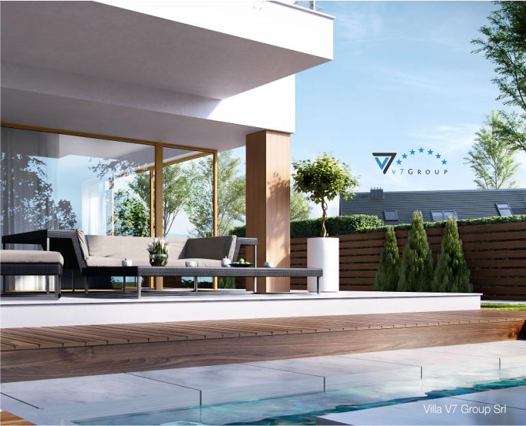 Immagine Villa V19 - il dettaglio della piscina esterna