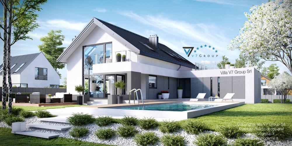 Immagine Villa V2 (G2) ENERGO - link - parte piscina della Villa V2 (G2)