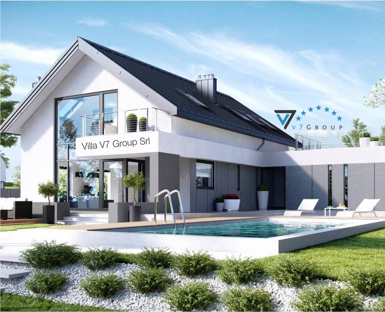 Immagine Villa V2 (G2) - baner di piccole dimensioni - vista giardino