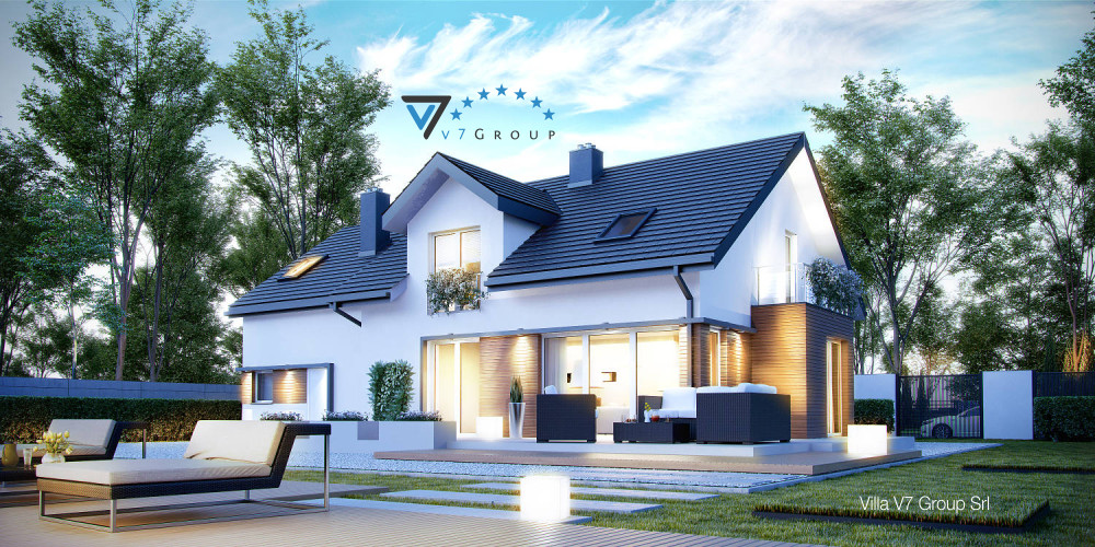 Immagine Villa V20 (progetto originale) - la presentazione di Villa V21