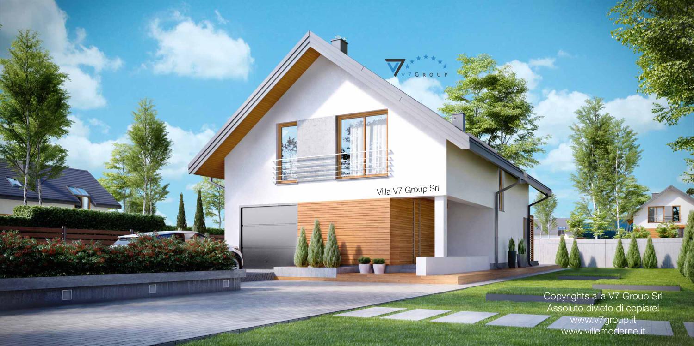 Immagine Villa V20 - la parte frontale della casa