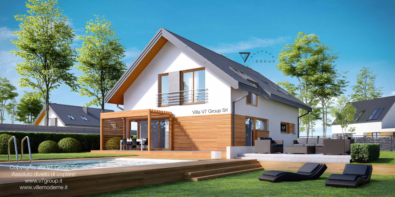 Immagine Villa V20 - vista del giardino di casa