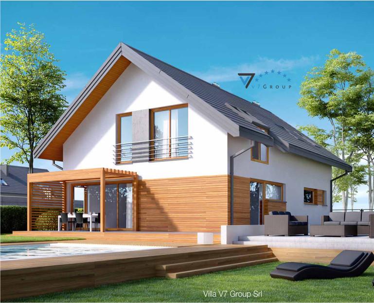 Immagine Villa V20 - il dettaglio del terrazzo esterno della villa
