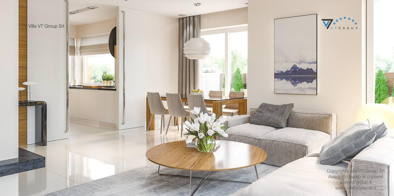 Immagine Villa V21 - interno 2 - soggiorno
